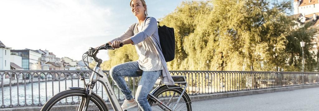 Flyer fiets verkrijgbaar bij Jan Bouwes Fietsen