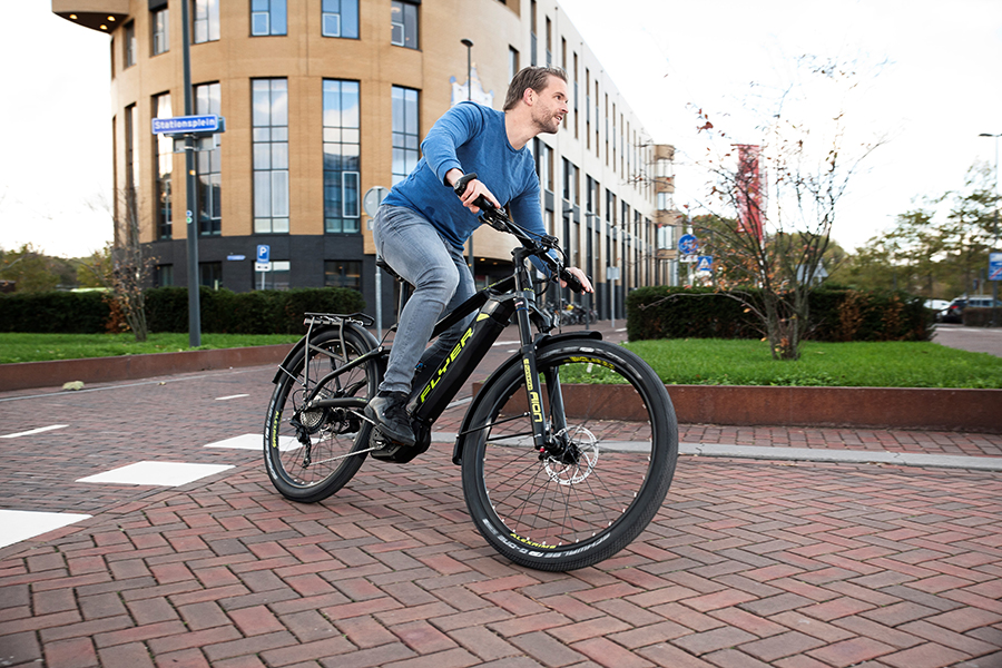 Flyer sports utility elektrische fiets