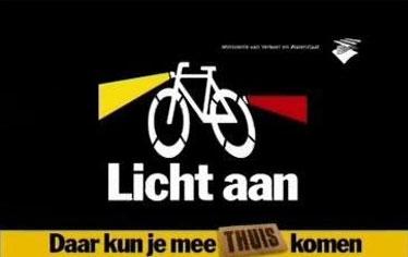 fietsverlichting daar kun je mee thuis komen