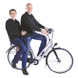 Jan en Petra Bouwes van Jan Bouwes Fietsen