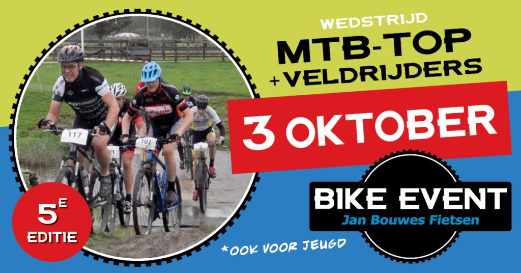 Jan Bouwes Fietsen Bike Event 2021 op 3 oktober bij Manege Beukers
