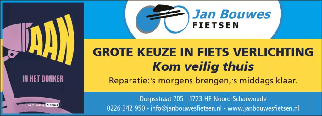 grote keuze in fietsverlichting bij jan bouwes fietsen
